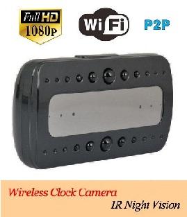 Desk-Clock Wifi Camera ini adalah Kamera pengintai berbentuk jam meja yang  langsung dapat terhubung dengan komputer atau smartphone tablet PC  (iPad android) ... 6faa8dfeb4
