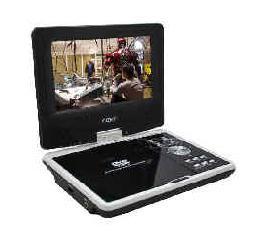 Satu lagi kelebihan dari Portable DVD player ini yaitu layar LCD-nya