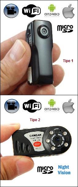 P2P WIFI SPY CAMERA - Kamera Wireless Mini (iOS Android) cf86987c69